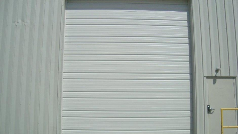 Garrett S Garage Doors Commercial Ribbed Steel Pan Amp Pan